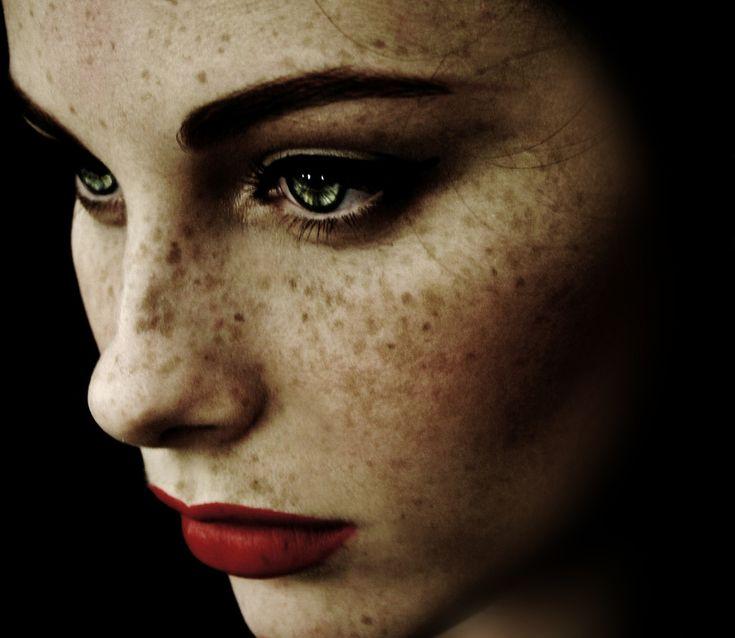 Stunning. She's like the combination of Elizabeth Taylor + Jennifer Connelly.