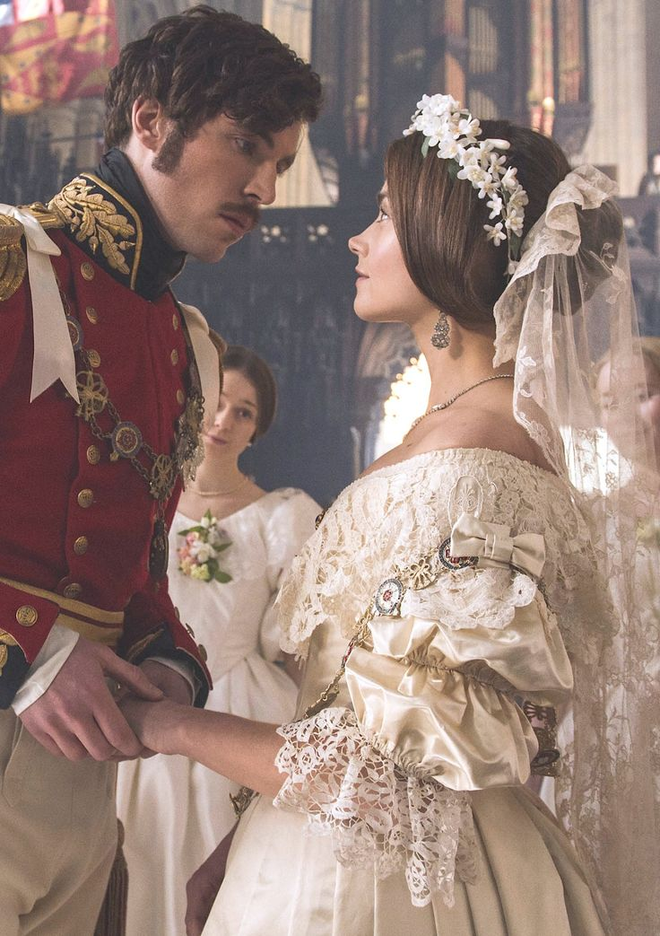 Tom Hughes and Jenna Coleman in Victoria - 2016