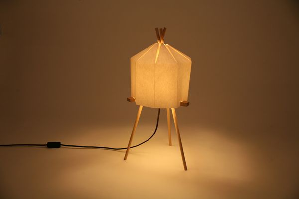 2Dots: Paper Lamp by Milk Design