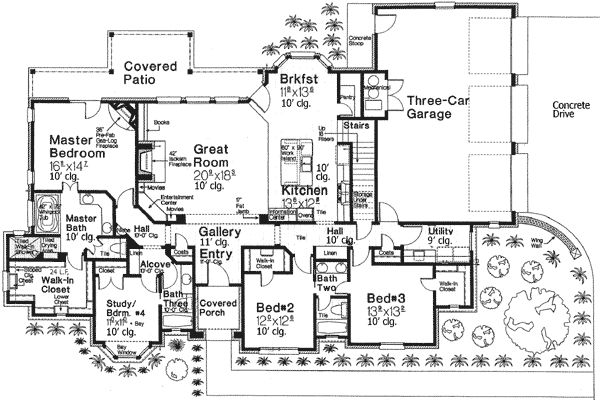 81 best images about fav home floor plans on pinterest for Grow room design plans