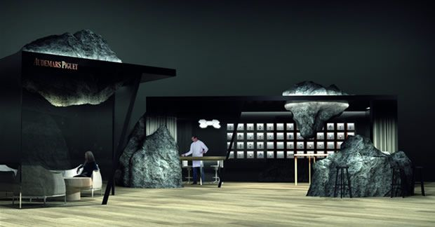 Audemars Piguet presenta el lounge que llevará a Art Basel en Hong Kong