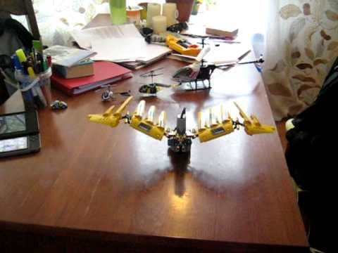 wings of the Lego Technic 8043