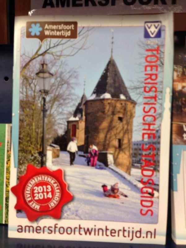 Mooie brochure voor in de winter, strak en duidelijk.