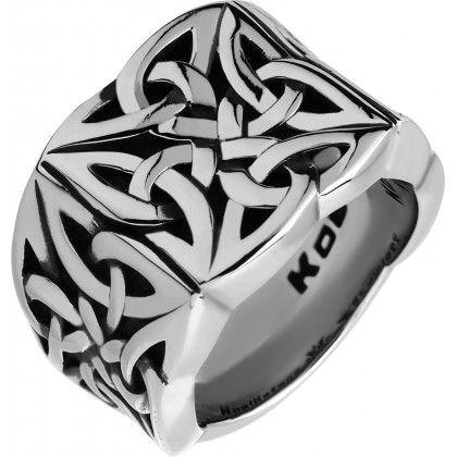 Перстень-печатка Celtic