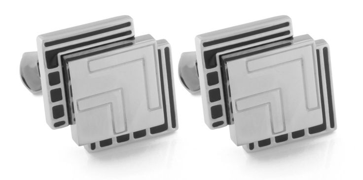 Luxury cufflinks Helveco via Helveco Italy. Click on the image to see more!