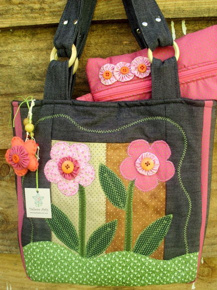 Bolsa De Tecido Feita Com Nós : Melhores ideias sobre flores de z?per no