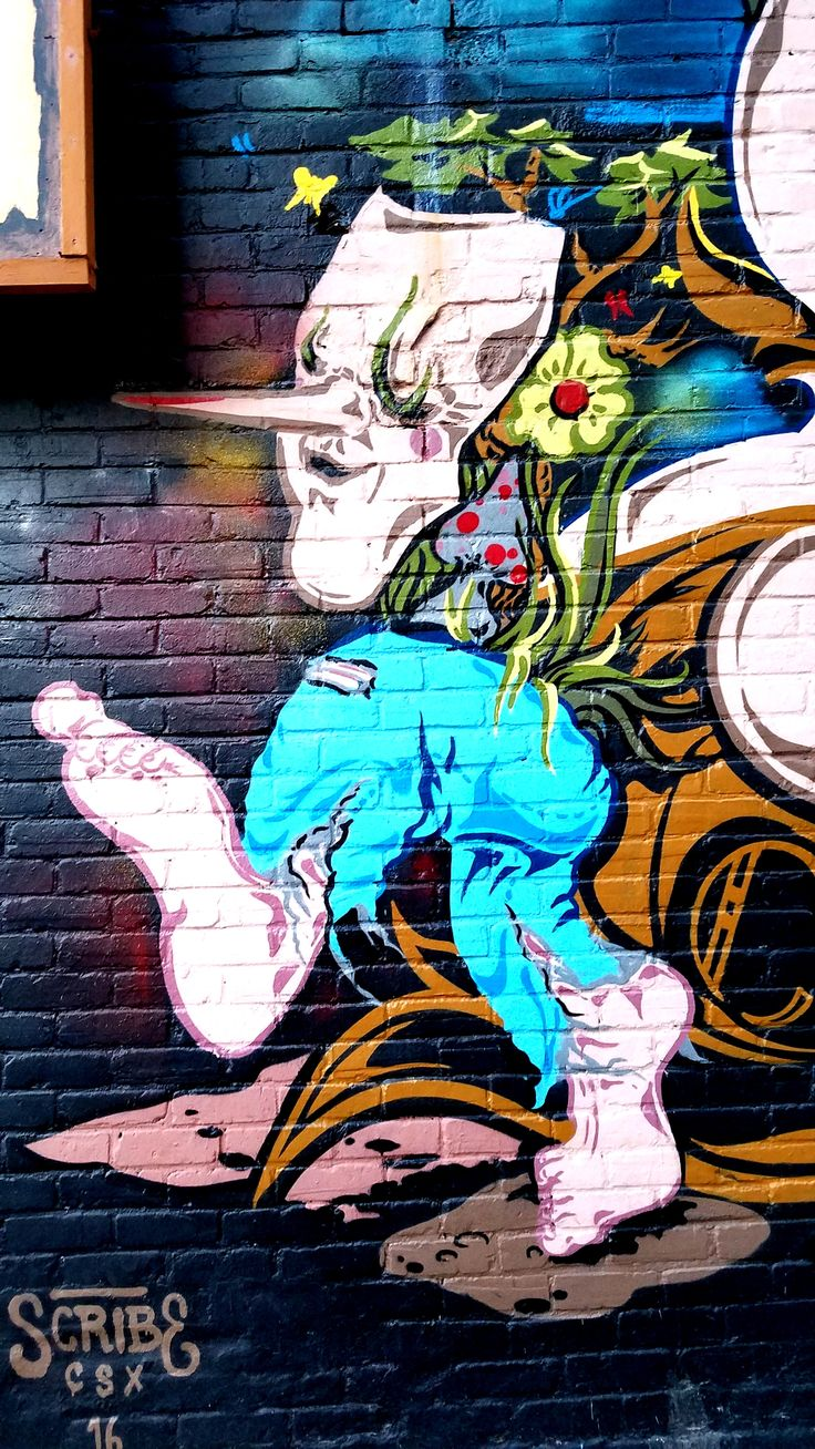 Montreal, Quebec. Street Art & Graffiti - Oh the fun in the Mont Royal neighborhood - Montreal has created an amazing street art culture over the years (Check Out Station 16 as a driving force.) Original Photograph by R. Stowe