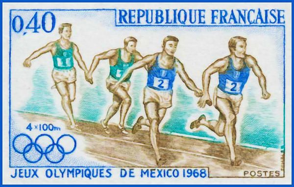 I uploaded new artwork to fineartamerica.com! - '4x100m Jeux Olympiques De Mexico 1968' - http://fineartamerica.com/featured/4x100m-jeux-olympiques-de-mexico-1968-lanjee-chee.html via @fineartamerica