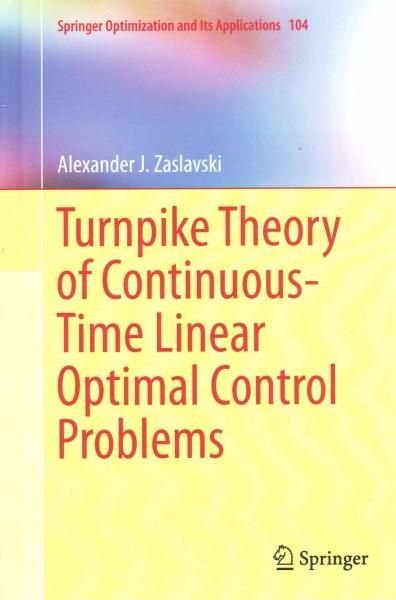 Turnpike Theory of Continuous-time Linear Optimal Control Problems