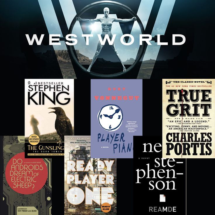 Obsessed with HBO's Westworld? Indulge in these reads to satiate your appetite between episodes.