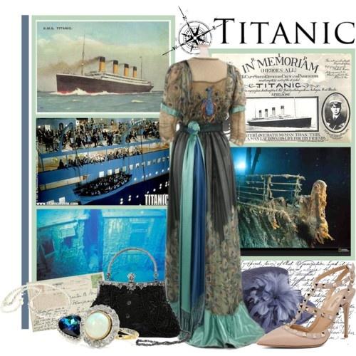 Titantic Inspired Fashion