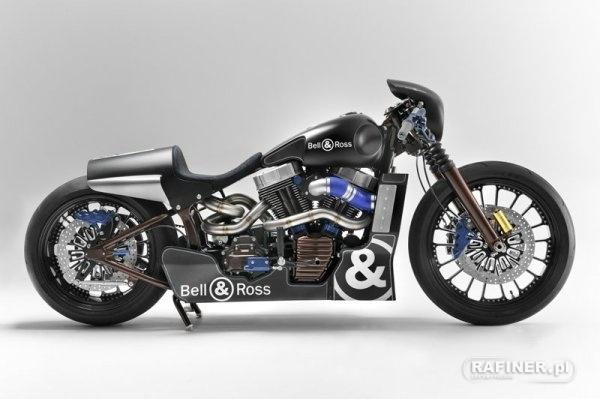 well, well, nice motorbike
