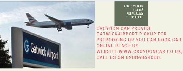 Croydon Car Minicabs Service offers our customers a service