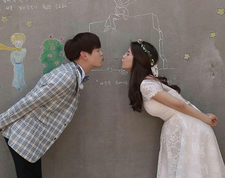 This was my favorite photo of them. Eric Nam and Solar on We Got Married