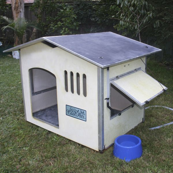 Water Cooled Dog House Cool Dog Houses Pinterest