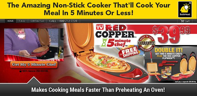 Red Copper 5 Minute Chef is a nonstick cooker that prepares food in minutes. Does it work as advertised? Here is our Red Copper 5 Minute Chef review.