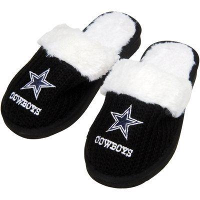Dallas Cowboys Women's High End Open Knit Slipper