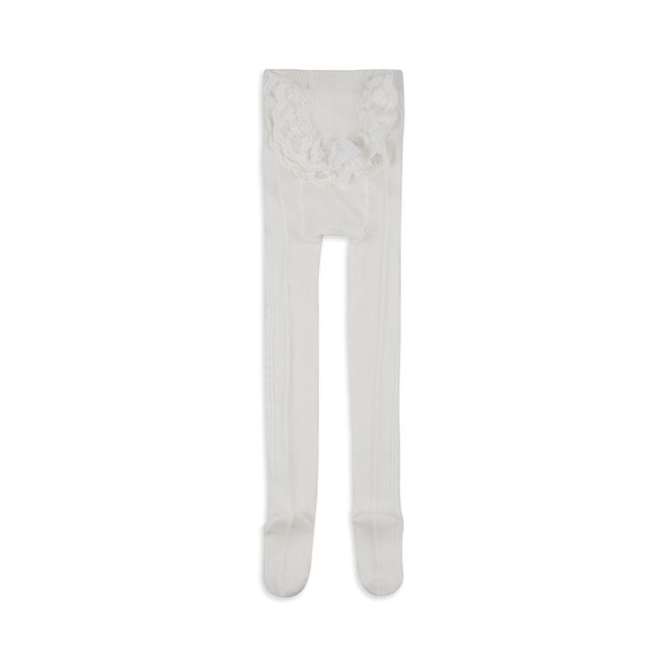 MAYORAL Baby Girls Ribbed Tights -  Cream Baby ribbed tights • Stretchy woven fabric • Textured weave • Long length design • Material: 70% Cotton, 27% Polyester, 3% Elastane