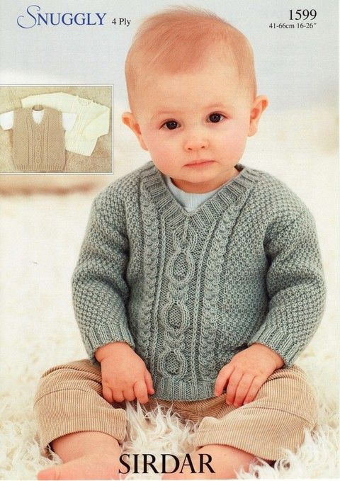 Sirdar - 1599 - Slipover and Sweaters (birth to 6 years)