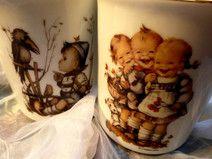 2 Hummel Tassen, Reutter Porzellan