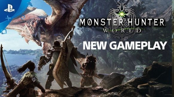 Monster Hunter: World is represented in a video game Monster Hunter: World PC PS4 Xbox One