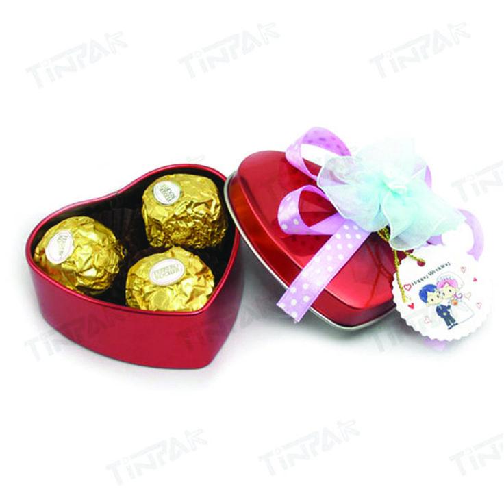 Elegant heart shaped  chocolate tins make your Valentine's Day be more wondrful ! http://www.tinpak.us/Products/Chocolatehearttinwholesale.html