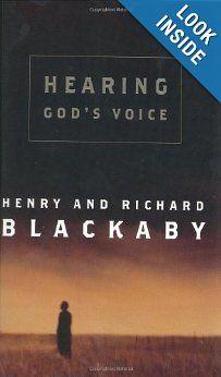 Hearing God's Voice: Henry Blackaby, Richard Blackaby: 9780805424935: Amazon.com: Books