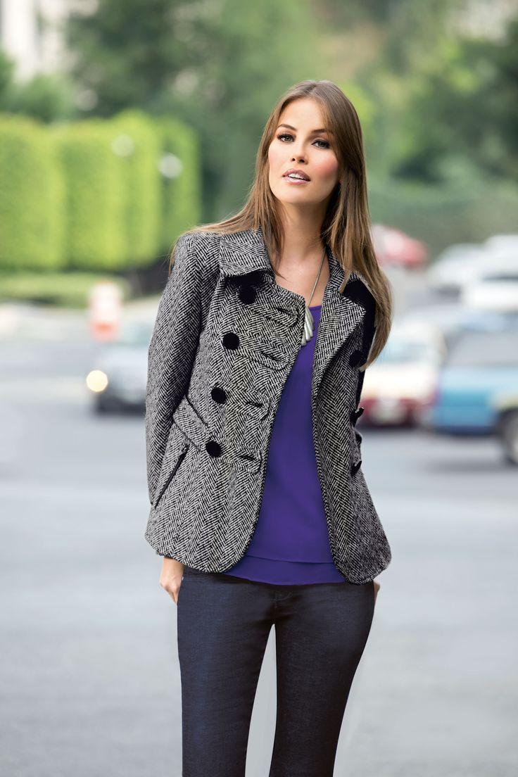 #Saco #dama #invierno #outfit