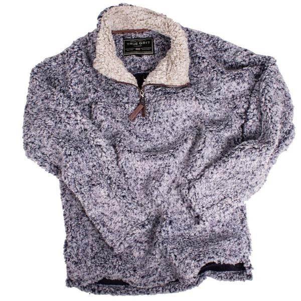 <b>PRE-ORDER NOW</b> Frosty Tipped Pile 1/2 Zip Pullover