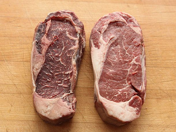 article proving home style dry aging produces not one benefit' http://www.seriouseats.com/2013/01/the-food-lab-dry-age-beef-at-home.html