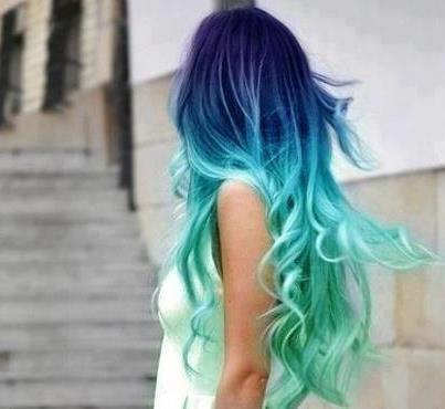 gradient hair colour