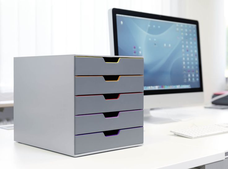 Varicolor® drawer systems are suitable for even the most modern office space.