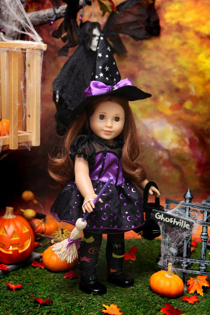 140 best american girl doll halloween witches images on Pinterest ...