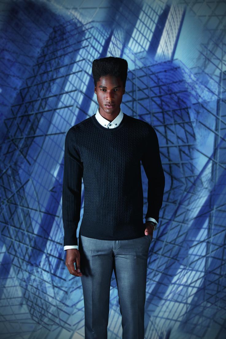 L'homme dandy aime la géométrie au millimètre : de la coupe aux motifs. http://www.izac.fr/fr/pret-a-porter-homme/architektur.html #menlook #outfit #menstyle