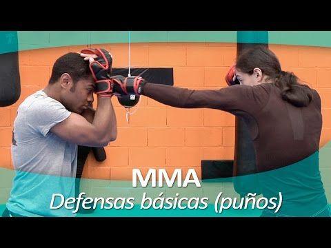 MMA (ARTES MARCIALES MIXTAS) 4 | Defensas básicas ataques de puños - YouTube