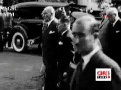 ✿ ❤ Atatürk`ün gerçek sesi ve net görüntüsü