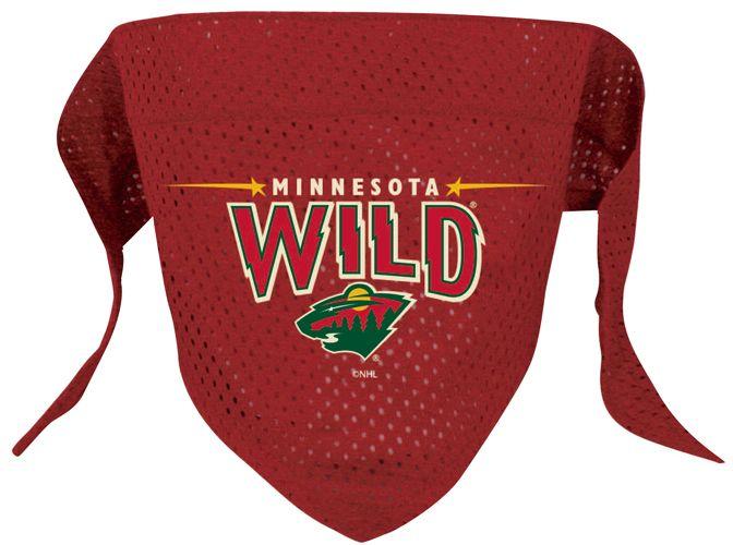 Minnesota Wild Dog Bandana : Athletic Pets