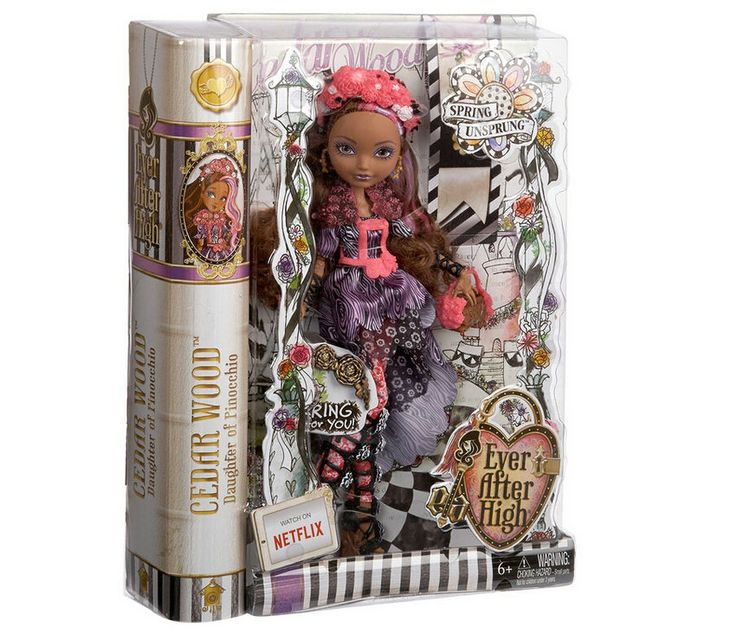 EVER AFTER HIGH Cedar Wood Doll Spring Unsprung NEW IN BOX