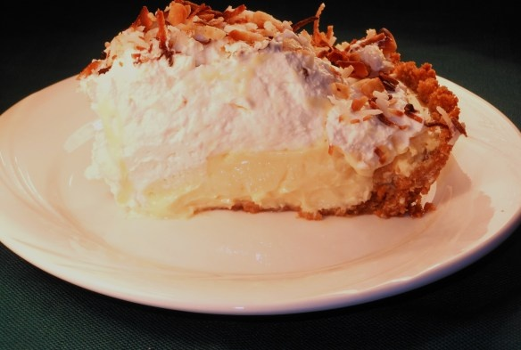 Nut Lime Pie Topped with Toasted Coconut This Pie is Sweet, Tart ...