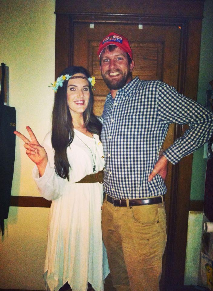forest gump and brunette jenny easycheap diy costume - Halloween Costume Brunette