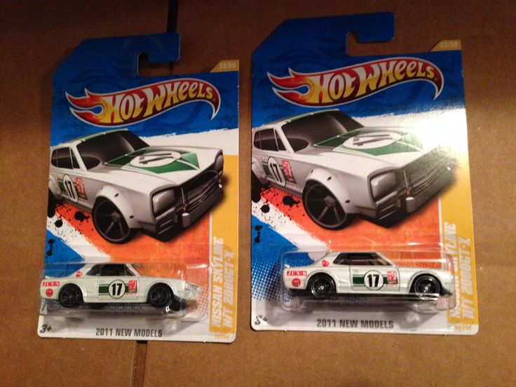 Nice Awesome Hot Wheels 2011 New Models Nissan Skyline H/T 2000GT-X #33/244  Lot of 2x 2018