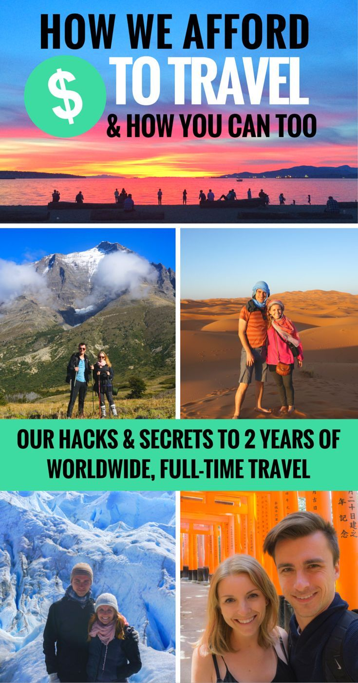 A detailed reveal of the secrets & hacks to travelling full-time. If you dream of travelling long-term or even just more often, this is a MUST-read! #budgettravel