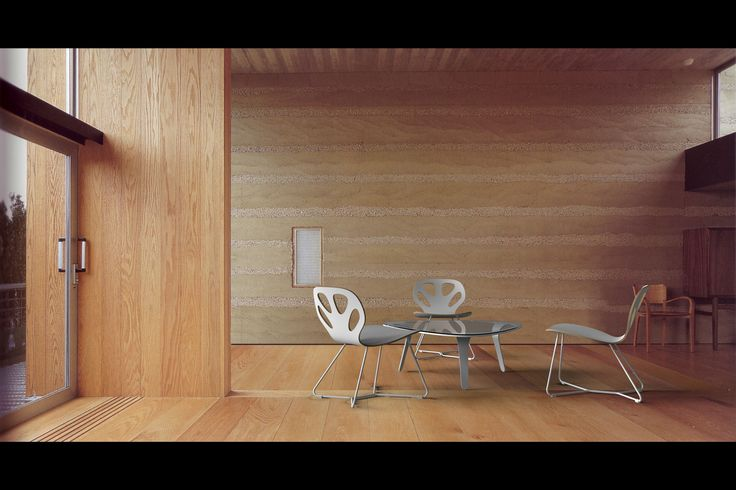 Maple lounge chair
