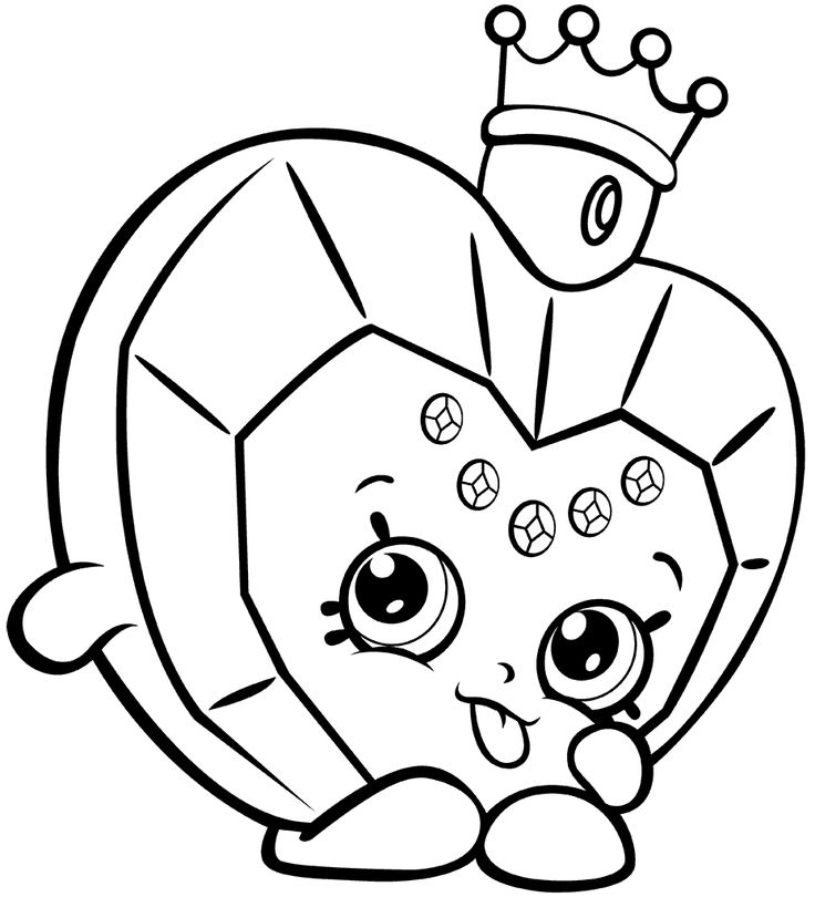 53 Best Shopkins Coloring Pages Images On Pinterest