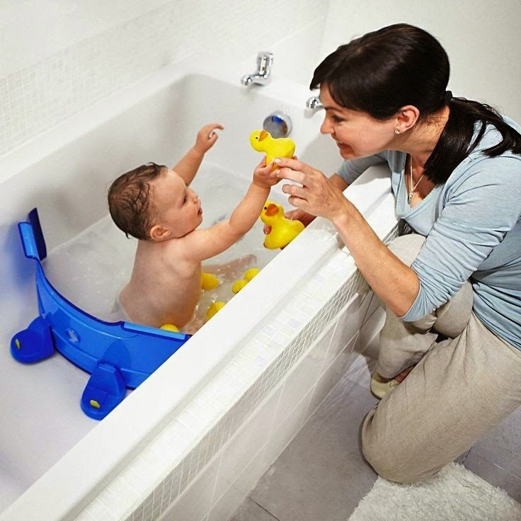 Save water, time, and money by getting a BabyDam for your baby's bath time.