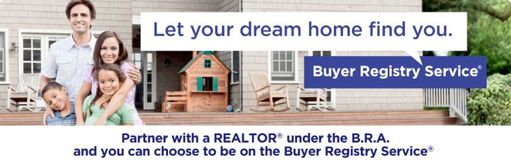 Let your dream home find you.