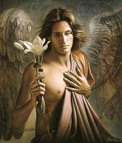 Archangel Haniel by Unknown Artist