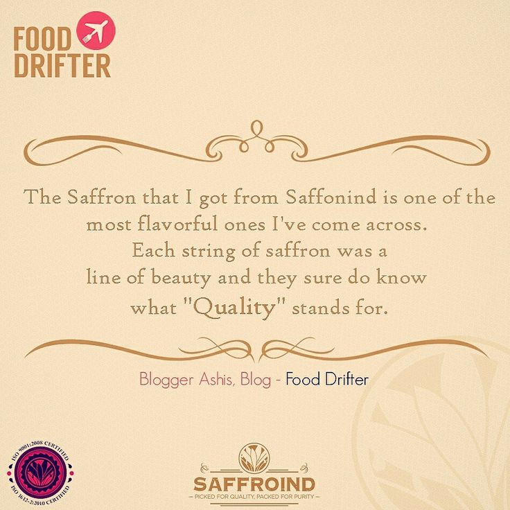 We love to make your dish special with our saffron & when amazing food bloggers talk nice about us - We are on Cloud 9! #customers #customerfeedback #customerappreciation #customerservice #customerorder #happycustomer #customersatisfaction #delighted #customerdelight #flavor #aromatic #richer #saffron #saffronthreads #kesar #foodblog #foodblogger #foodie #foodies #fooddrifter #blog #blogger #bloggers #cloud9