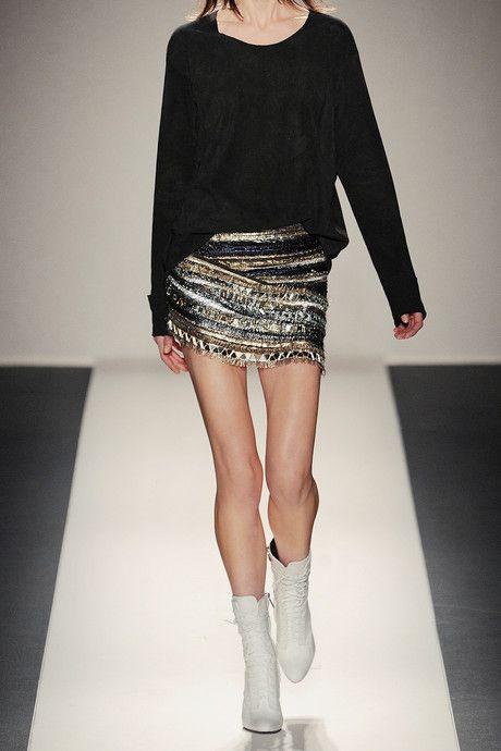 mini skirts fashion | Balmain mini skirt : split at one side, handmade black and clear ...