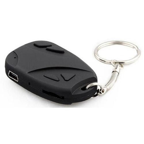 World's Smallest/Lightest, High-Definition Digital Camera, Ultra Video Mini-DV Micro Camcorder, Voice Recorder, Webcam, USB Interface, 4GB Memory Car Remote Control Keychain Shape Great Security Tool